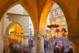 View Through Arches on Prinzipalmarkt, Munster, North Rhine-Westphalia, Germany, Europe Photographic Print by Frank Fell