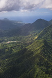 Aerial of Dominica, West Indies, Caribbean, Central America Photographic Print by Michael Runkel