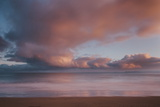 Dawn Sky over Carbis Bay Beach Looking to Godrevy Point Photographic Print by Mark Doherty