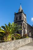 Anglican Church in Roseau Capital of Dominica, West Indies, Caribbean, Central America Photographic Print by Michael Runkel