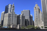 Wrigley Building and Tribune Tower, Chicago, Illinois, United States of America, North America Photographic Print by Amanda Hall