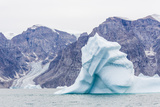 Grounded Icebergs, Sydkap, Scoresbysund, Northeast Greenland, Polar Regions Photographic Print by Michael Nolan