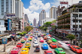 Traffic Congestion in Central Bangkok, Thailand, Southeast Asia, Asia Photographic Print by Gavin Hellier