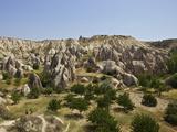 Fairy Chimneys Rock Formation Near Goreme, Cappadocia, Anatolia, Turkey, Asia Minor, Eurasia Photographic Print by Simon Montgomery