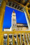 St. Lawrence Cathedral at Night, Trogir, Dalmatian Coast, Croatia, Europe Photographic Print by Matthew Williams-Ellis