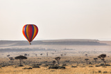 Dawn Hot Air Balloon Ride, Masai Mara National Reserve, Kenya, East Africa, Africa Photographic Print by Ann and Steve Toon