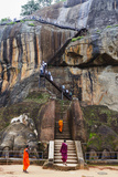 Sigiriya, UNESCO World Heritage Site, North Central Province, Sri Lanka, Asia Photographic Print by Christian Kober