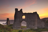 Pennard Castle, Gower, Wales, United Kingdom, Europe Photographic Print by Billy Stock