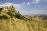 The Citadelle, Deserted Village of Craco in Basilicata, Italy, Europe Photographic Print by Olivier Goujon