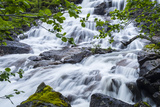Slow Shutter Speed to Create Silky Waterfall, Hellemoboten, Norway, Scandinavia, Europe Photographic Print by Michael Nolan