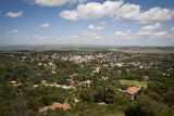 View over La Cumbre, Cordoba Province, Argentina, South America Photographic Print by Yadid Levy