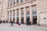 Gare Du Nord Railway Station in Paris, France, Europe Photographic Print by Julian Elliott
