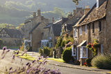 Cotswold Cottages, Broadway, Worcestershire, Cotswolds, England, United Kingdom, Europe Photographic Print by Stuart Black