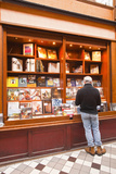 A Book Shop in Passage Jouffroy, Central Paris, France, Europe Photographic Print by Julian Elliott
