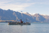 Tss Earnslaw on Lake Wakatipu, Queenstown, Otago, South Island, New Zealand, Pacific Photographic Print by Matthew Williams-Ellis