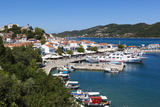 Harbour, Skiathos Town, Skiathos Island, Sporades Islands, Greek Islands, Greece, Europe Fotodruck von Stuart Black