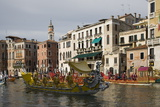 Regatta, Grand Canal, Venice, UNESCO World Heritage Site, Veneto, Italy, Europe Photographic Print by Philip Craven