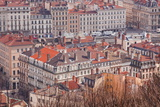 Looking over the Rooftops of the City of Lyon, Rhone-Alpes, France, Europe Photographic Print by Julian Elliott