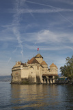 The Castle of Chillon, on Lake Geneva, Montreux, Canton Vaud, Switzerland, Europe Photographic Print by Angelo Cavalli