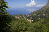 View of the Coast, Maratea, Tyrrhenian Sea, Basilicata, Italy, Europe Photographic Print by Olivier Goujon