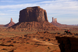 Adrian, Last Cowboy of Monument Valley, Utah, United States of America, North America Photographic Print by Olivier Goujon