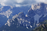 The Rugged Rosengarten Peaks in the Dolomites Near Canazei, Trentino-Alto Adige, Italy, Europe Photographic Print by Martin Child