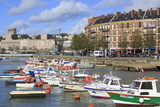 Boats in Saint Francois Quarter, Le Havre, Normandy, France, Europe Photographic Print by Richard Cummins