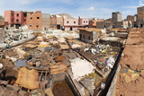 Tannery in Old Medina, Marrakech, Morocco, North Africa, Africa Photographic Print by Matthew Williams-Ellis