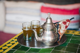 Moroccan Mint Tea Pot at a Cafe in Marrakech, Morocco, North Africa, Africa Photographic Print by Matthew Williams-Ellis