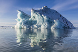 Iceberg, Vikingbukta (Viking Bay), Scoresbysund, Northeast Greenland, Polar Regions Photographic Print by Michael Nolan
