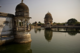 Lakshman Mandir Temple in Chanderi, Madhya Pradesh, North India, Asia Photographic Print by James Morgan