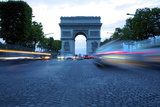 Arc De Triomphe, Paris, France, Europe Photographic Print by Neil Farrin