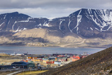 Longyearbyen, Spitsbergen Island, Svalbard Archipelago, Norway, Scandinavia, Europe Photographic Print by Michael Nolan