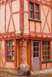 La Maison Du Pilier Rouge in Le Mans, Sarthe, Pays De La Loire, France, Europe Photographic Print by Julian Elliott