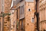 La Grande Rue in the Old City of Le Mans, Sarthe, Pays De La Loire, France, Europe Photographic Print by Julian Elliott