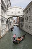 Bridge of Sighs, Venice, UNESCO World Heritage Site, Veneto, Italy, Europe Fotografisk tryk af Philip Craven