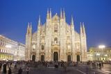 Duomo (Milan Cathedral), Milan, Lombardy, Italy, Europe Photographie par Christian Kober