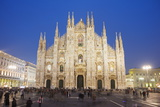 Duomo (Milan Cathedral), Milan, Lombardy, Italy, Europe Photographic Print by Christian Kober