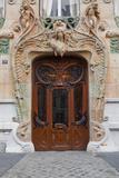 An Art Nouveau Doorway in Central Paris, France, Europe Photographic Print by Julian Elliott