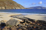 Keem Beach on Achill Island, County Mayo, Connaught (Connacht), Republic of Ireland, Europe Photographic Print by Richard Cummins