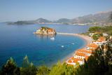 Sveti Stefan, Budva Bay, Budva Riviera, Montenegro, Europe Photographic Print by Frank Fell