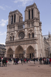 Notre Dame De Paris Cathedral on the Ile De La Cite, Paris, France, Europe Photographic Print by Julian Elliott