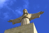Statue of Christ, Cristo Rei, Lisbon, Portugal, South West Europe Photographic Print by Neil Farrin