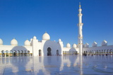 Sheikh Zayed Bin Sultan Al Nahyan Mosque, Abu Dhabi, United Arab Emirates, Middle East Photographic Print by Frank Fell