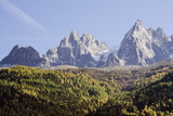 Aiguilles De Chamonix Peaks, Chamonix, Haute-Savoie, French Alps, France, Europe Photographic Print by Christian Kober