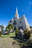 St. Joseph's Church in Inarajan, Guam, Us Territory, Central Pacific, Pacific Photographic Print by Michael Runkel
