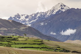 Landscape Above the Sacred Valley Near Maras, Peru, South America Photographic Print by Michael DeFreitas