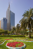Capital Park, Abu Dhabi, United Arab Emirates, Middle East Photographic Print by Frank Fell