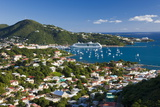 Elevated View over Charlotte Amalie Photographic Print by Gavin Hellier