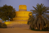 Al Jahili Fort at Dusk, Al Jahili Park, Al Ain, Abu Dhabi, United Arab Emirates, Middle East Photographic Print by Frank Fell